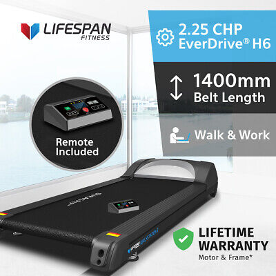 AU999 • Buy NEW Lifespan Fitness Walkstation B Treadmill Base Only Under Desk With Remote