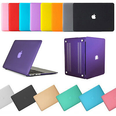 $13.99 • Buy Macbook Hard Case For Mac Book Air Pro 11 13 15  New 12  Laptop Rubberized Cover