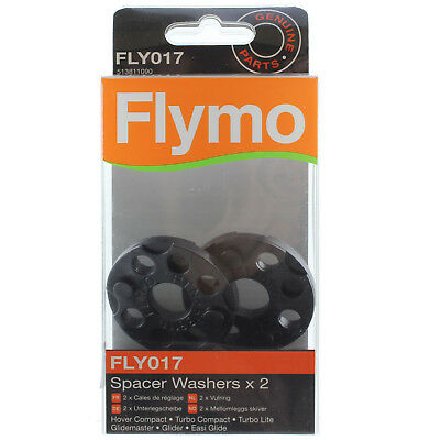 2 X FLYMO Vision Compact 330 350 350+ 380 Lawnmower Spacer Washer FLY017 Genuine • 10.05£