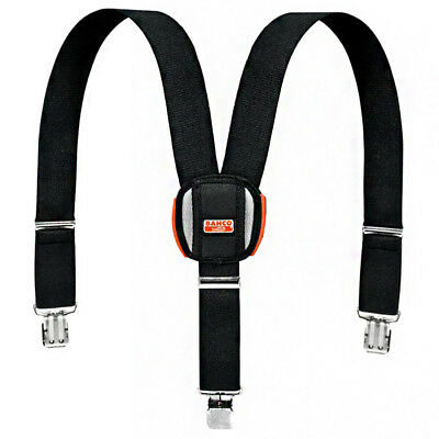 Bahco Padded Adjustable Braces For Work Trousers With Heavy Duty Clips • 17.88£