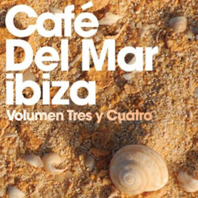 £2.58 • Buy Various Artists : Cafe Del Mar - Volume 3 And 4 CD 2 Discs (2010) Amazing Value