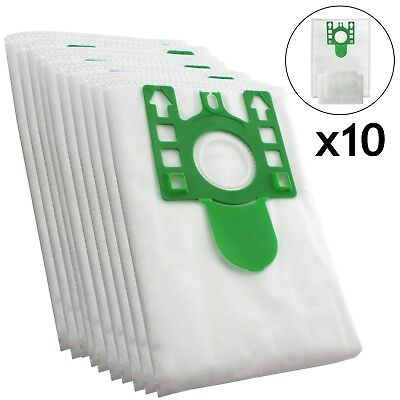 10 X U Type Hyclean Vacuum Cleaner Bags For MIELE Hoover Dust Bag S7260 Filters • 8.25£