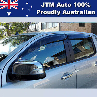 AU51.69 • Buy To Suit Ford Ranger PX Weather Shield Weathershields WINDOW VISOR 2012-2020
