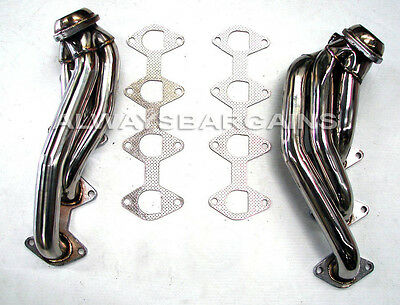 $139.99 • Buy Manzo Stainless Steel Headers Fits Ford Mustang GT 05 06 07 08 4.6L V8 TP-172