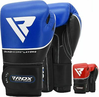 $ CDN75.99 • Buy RDX Leather Boxing Gloves Fight Punching Bag MMA Muay Thai Grappling Pad Kick CA