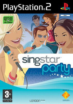 £2.26 • Buy SingStar Party (PS2) PEGI 3+ Rhythm: Sing Along Expertly Refurbished Product