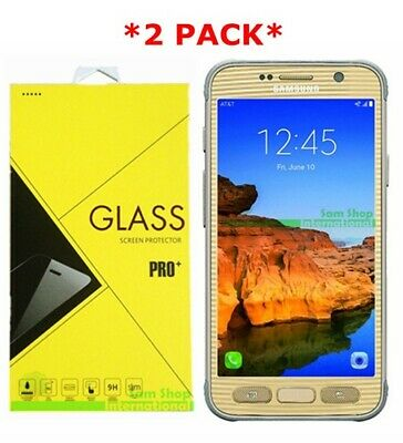 $ CDN4.92 • Buy 2X Premium Tempered Glass Screen Protector Guard For Samsung Galaxy S7 Active