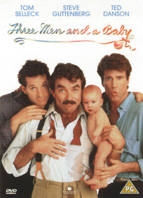 Three Men And A Baby DVD (2002) Tom Selleck, Nimoy (DIR) Cert PG Amazing Value • 2.12£