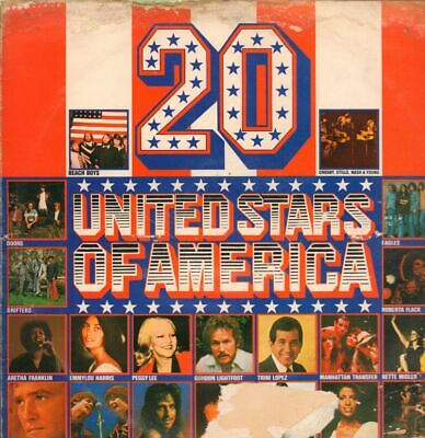 Various Pop(Vinyl LP)20 United States Of America-Wea-K 58006-UK-Fair/VG • 6.09£