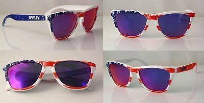 $250 • Buy Oakley Old Glory Frogskins 24-318 Collectors Sunglasses Rare New  Last One