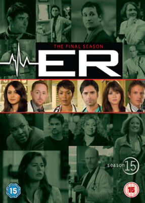 ER: The Final Season - Season 15 DVD (2009) Parminder Nagra, Wells (DIR) Cert • 11.59£