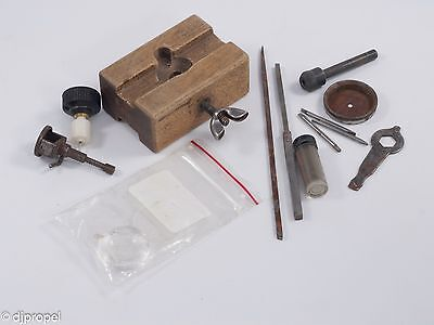 $ CDN18.97 • Buy Vintage Watchmakers Tools! Wood Movement Holder, Case Opener And More