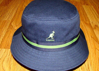 5942ab2dd61 Navy KANGOL Stripe LaHinch Bucket Hat Style K4012SP • 38.25