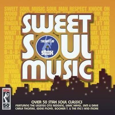 Various Artists : Sweet Soul Music - The Best Of Stax CD 2 Discs (2007) • 3.83£