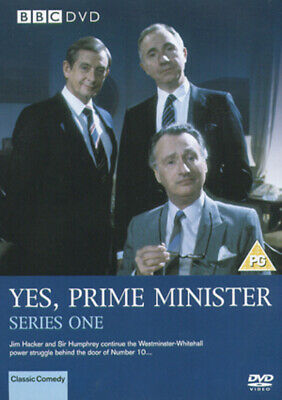 Yes, Prime Minister: The Complete Series 1 DVD (2004) Paul Eddington, Lotterby • 2.26£