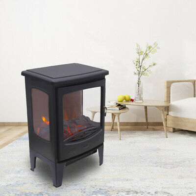 1850W Electric Fireplace Heater Fire Place Stove Fan Log Burning Flame Effect • 76.99£