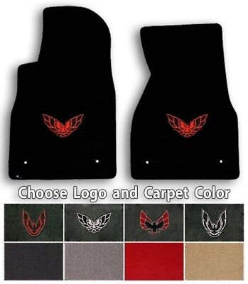 $102.90 • Buy Firebird Trans Am 2pc Classic Loop Carpet Floor Mats - Choose Color & Logo