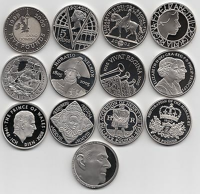 £14.99 • Buy Royal Mint PROOF Five Pound Coin £5 1993 - 2021  Choose Your Coin