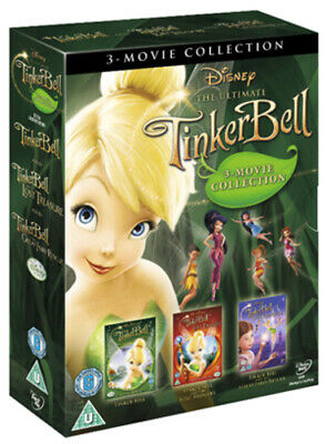 £4.32 • Buy Tinker Bell/Tinker Bell And The Lost Treasure/Tinker Bell And... DVD (2010)