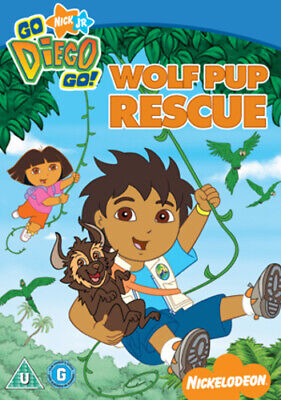 £2.39 • Buy Go Diego Go: Wolf Pup Rescue DVD (2008) Chris Gifford Cert U Fast And FREE P & P