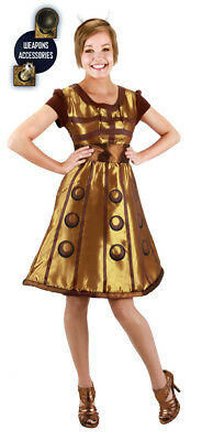 £18.15 • Buy Doctor Who Dalek Dress, Headband And Weapons Costume Size S/M, NEW UNWORN