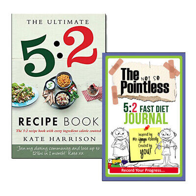 £7.99 • Buy 5:2 Diet Recipe Book Collection Easy, Calorie Counted Fast Day Meals 2 Books Set