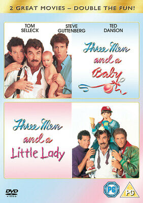 Three Men And A Baby/Three Men And A Little Lady DVD (2005) Tom Selleck, Nimoy • 4.07£