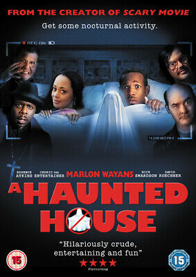 A Haunted House DVD (2013) Marlon Wayans, Tiddes (DIR) Cert Tc Amazing Value • 3.49£