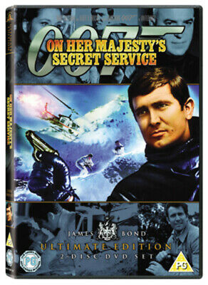 On Her Majesty's Secret Service DVD (2006) George Lazenby, Hunt (DIR) Cert PG • 2.68£