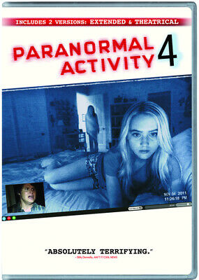 £1.90 • Buy Paranormal Activity 4: Extended Edition DVD (2013) Katie Featherston, Joost
