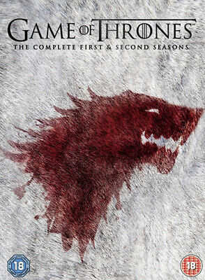 Game Of Thrones: The Complete First & Second Seasons DVD (2013) Sean Bean Cert • 5.67£