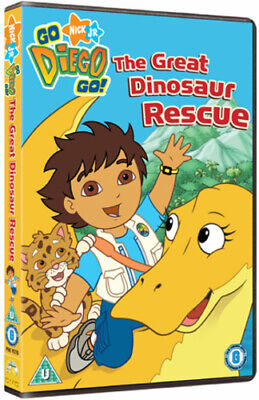 Go Diego Go!: Great Dinosaur Rescue DVD (2009) Chris Gifford Cert U Great Value • 2.28£
