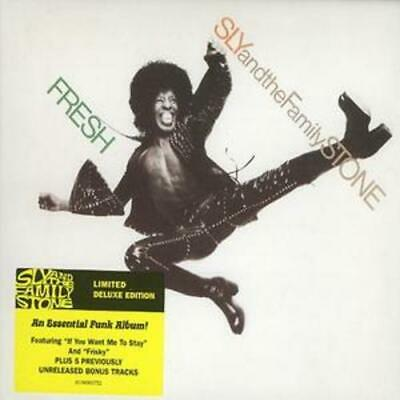 Sly & The Family Stone : Fresh CD Limited Deluxe  Album (2007) Amazing Value • 3.48£