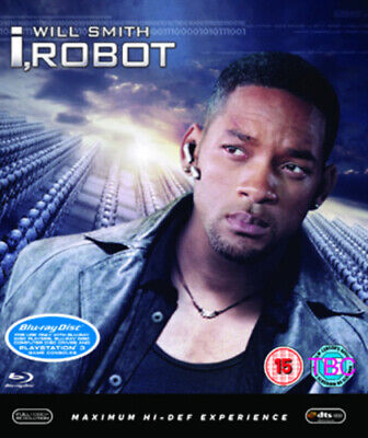 I, Robot Blu-Ray (2008) Will Smith, Proyas (DIR) Cert 15 FREE Shipping, Save £s • 3.03£