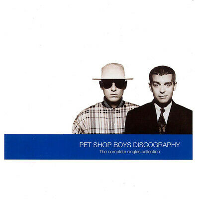 Pet Shop Boys : Discography: The Complete Singles Collection CD (1991) • 2.75£