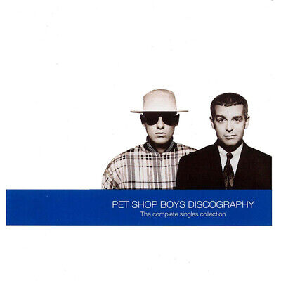 Pet Shop Boys : Discography: The Complete Singles Collection CD (1991) • 2.16£