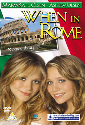 When In Rome DVD (2003) Ashley Olsen, Purcell (DIR) Cert U Fast And FREE P & P • 2.25£
