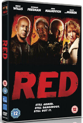 Red DVD (2011) Bruce Willis, Schwentke (DIR) Cert 12 FREE Shipping, Save £s • 2.10£
