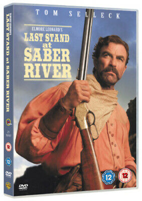 Last Stand At Saber River DVD (2005) Tom Selleck, Lowry (DIR) Cert 12 • 2.99£
