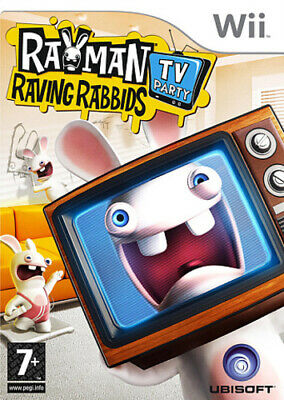 £2.44 • Buy Rayman Raving Rabbids TV Party (Wii) PEGI 3+ Various: Party Game Amazing Value