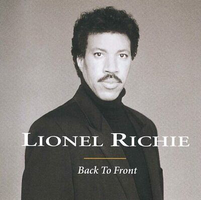 Lionel Richie : Back To Front CD (1999) Highly Rated EBay Seller Great Prices • 2.06£