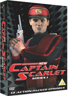 Gerry Anderson's New Captain Scarlet: Complete Series 1 DVD (2005) Gerry • 6.19£