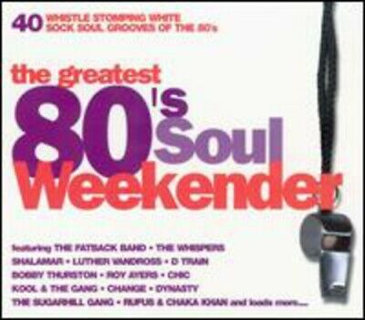 Various Artists : The Greatest 80s Soul Weekender CD FREE Shipping, Save £s • 3.38£