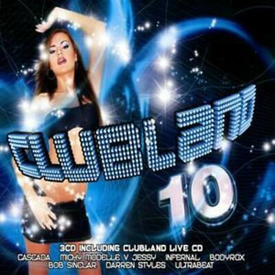 £2.61 • Buy Various Artists : Clubland 10 CD 3 Discs (2006) Expertly Refurbished Product