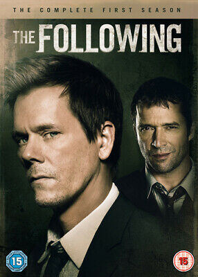 £2.39 • Buy The Following: The Complete First Season DVD (2013) Kevin Bacon Cert 15 4 Discs