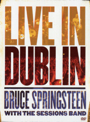 Bruce Springsteen With The Sessions Band: Live In Dublin DVD (2007) Cert E • 3.45£