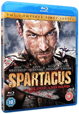 Spartacus - Blood And Sand: Series 1 Blu-ray (2011) Andy Whitfield Cert 18 4 • 4.55£
