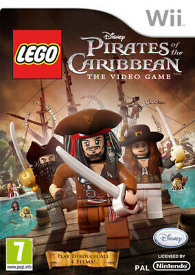 LEGO Pirates Of The Caribbean (Wii) PEGI 7+ Adventure FREE Shipping, Save £s • 3.94£