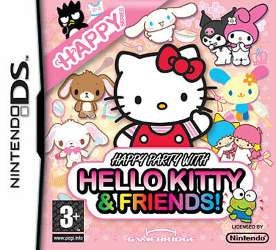 £2.92 • Buy Happy Party With Hello Kitty And Friends! (DS) PEGI 3+ Various: Party Game