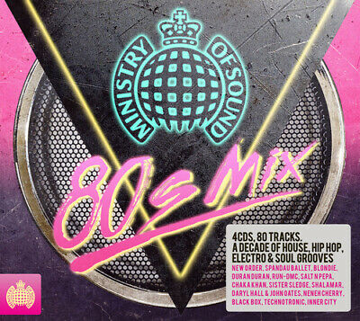 Various Artists : 80s Mix CD 4 Discs (2014) Incredible Value And Free Shipping! • 3.48£
